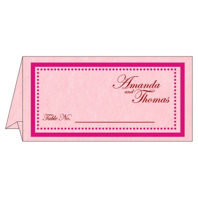 Table Cards - TC-8219K