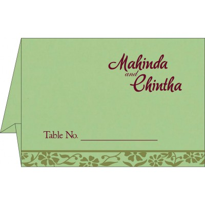 Table Cards - TC-8222G