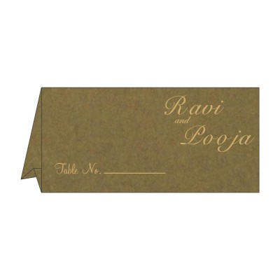 Table Cards - TC-8227F