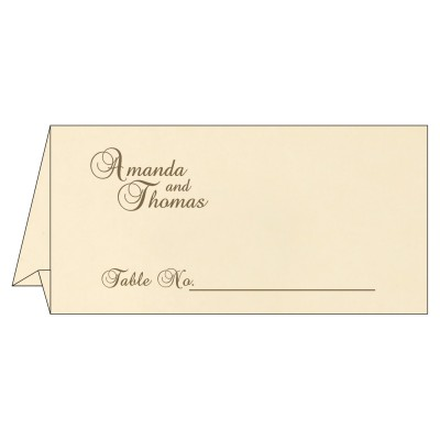 Table Cards - TC-8229C
