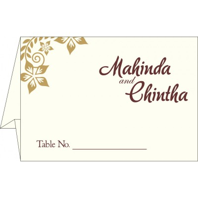 Table Cards - TC-8240E