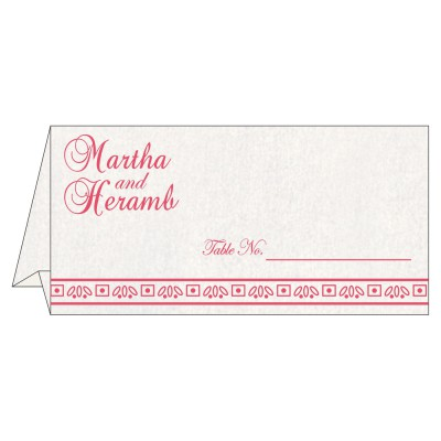 Table Cards - TC-8241C
