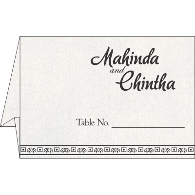 Table Cards - TC-8241O