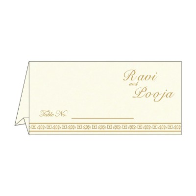 Table Cards - TC-8242D