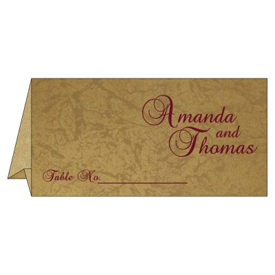Table Cards - TC-8253C