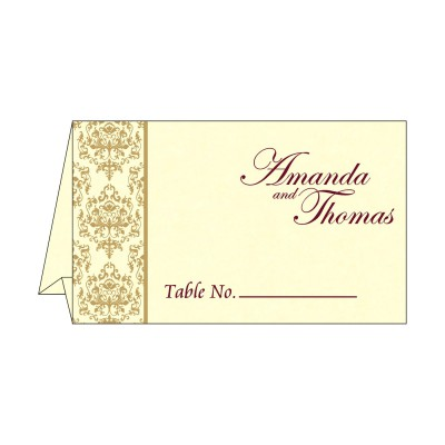 Table Cards - TC-8253F