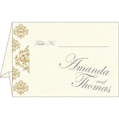 Table Cards - TC-8254A