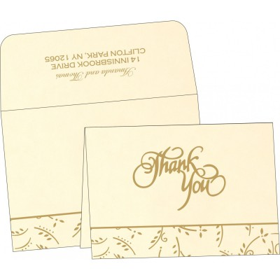Thank You Cards - TYC-1303