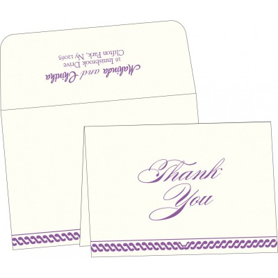 Thank You Cards - TYC-1327