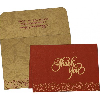 Thank You Cards - TYC-1465