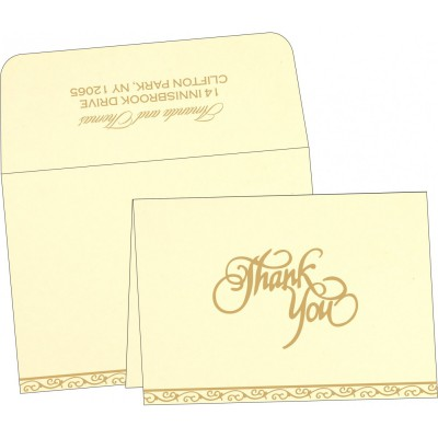 Thank You Cards - TYC-2005