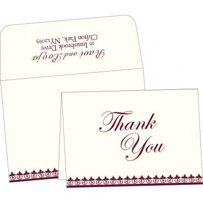 Thank You Cards - TYC-2084