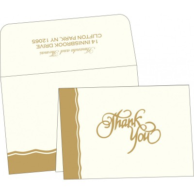 Thank You Cards - TYC-2117