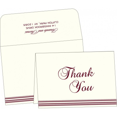 Thank You Cards - TYC-2226