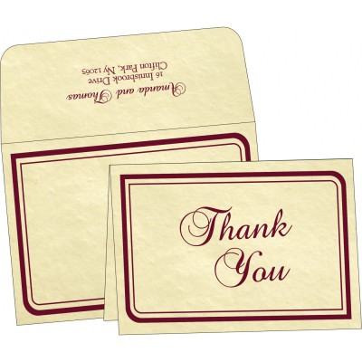 Thank You Cards - TYC-2235