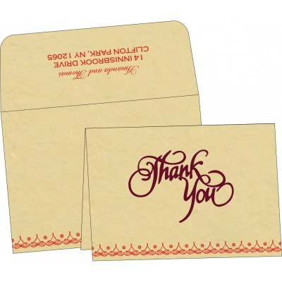 Thank You Cards - TYC-5004A