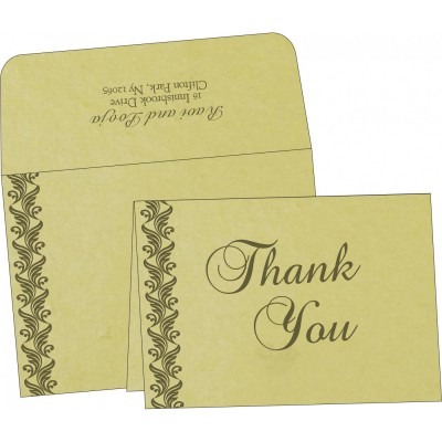 Thank You Cards - TYC-5007I