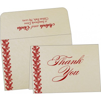 Thank You Cards - TYC-5007J