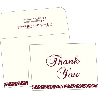 Thank You Cards - TYC-5008C