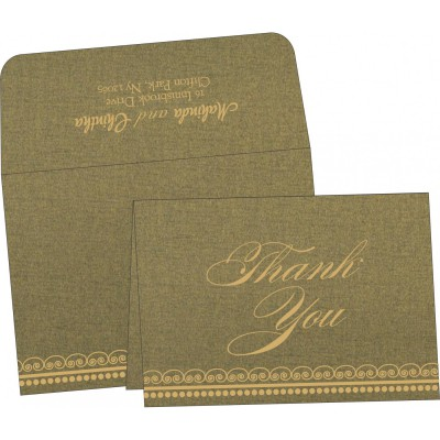 Thank You Cards - TYC-5009E