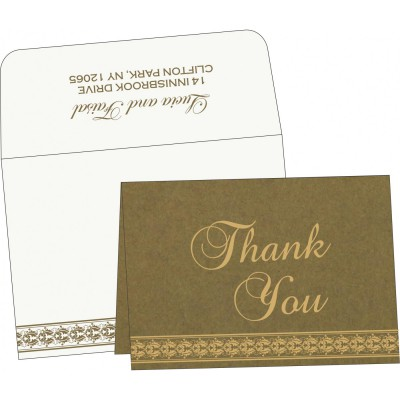 Thank You Cards - TYC-5010F