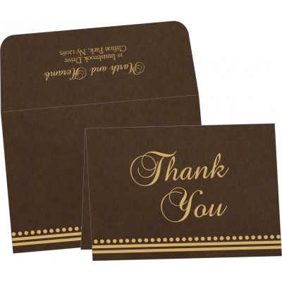 Thank You Cards - TYC-5011H