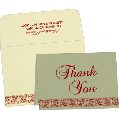 Thank You Cards - TYC-5014B