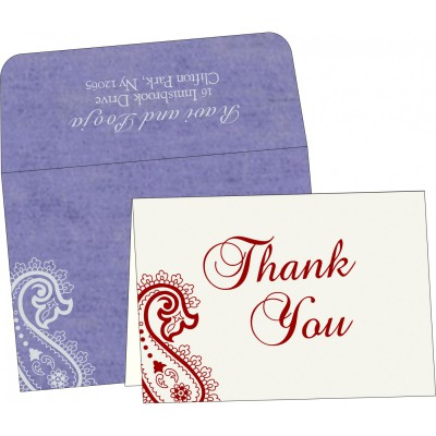 Thank You Cards - TYC-5015E
