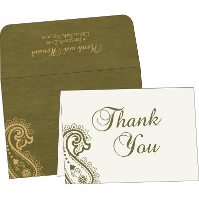 Thank You Cards - TYC-5015I