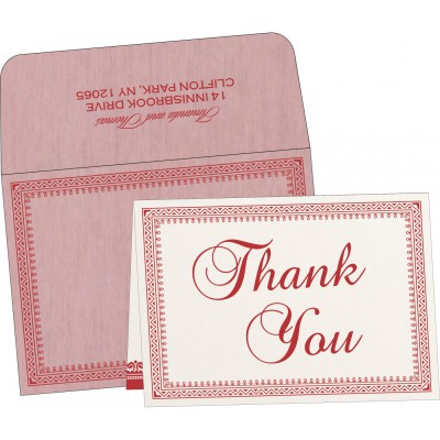 Thank You Cards - TYC-8205J