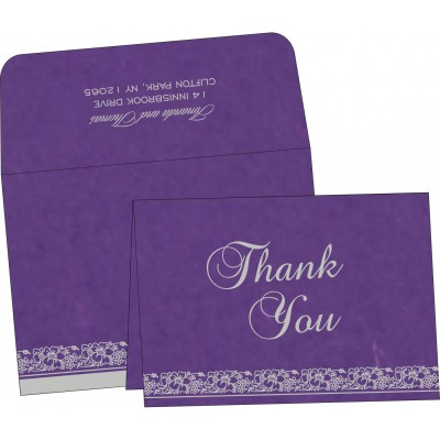 Thank You Cards - TYC-8207G