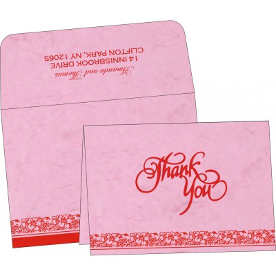 Thank You Cards - TYC-8207K