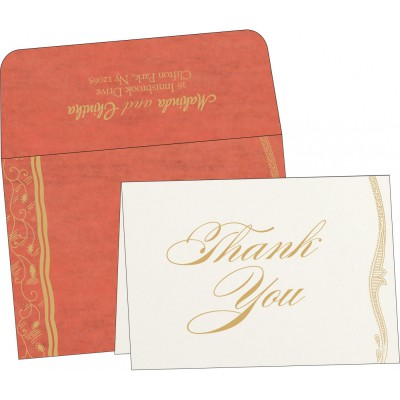 Thank You Cards - TYC-8210F