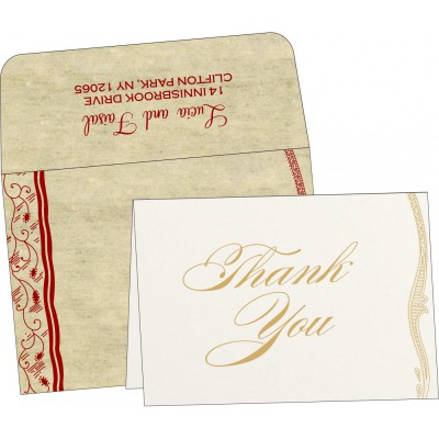 Thank You Cards - TYC-8210G