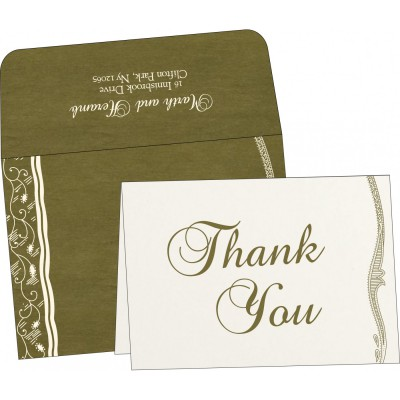 Thank You Cards - TYC-8210I