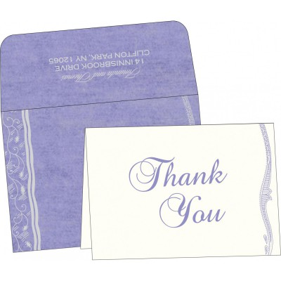 Thank You Cards - TYC-8210N
