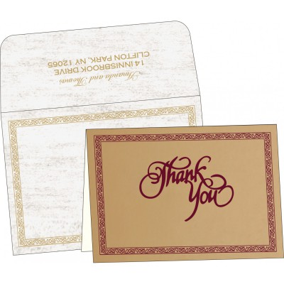 Thank You Cards - TYC-8211A