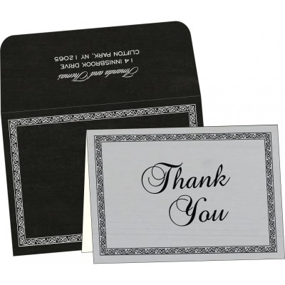 Thank You Cards - TYC-8211B
