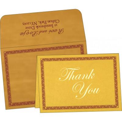 Thank You Cards - TYC-8211E