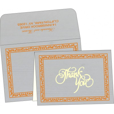 Thank You Cards - TYC-8214M
