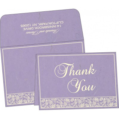 Thank You Cards - TYC-8215B