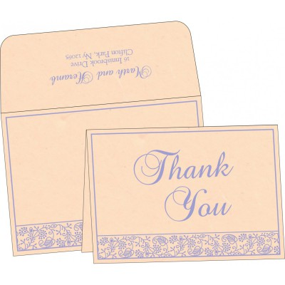 Thank You Cards - TYC-8215M