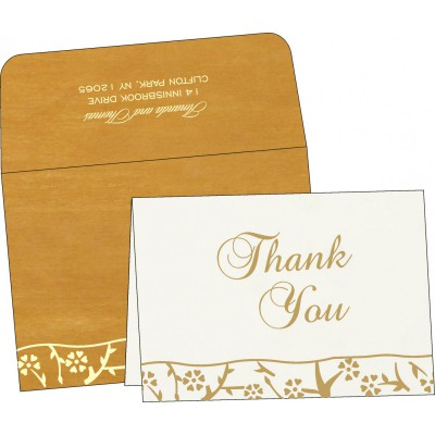 Thank You Cards - TYC-8216M