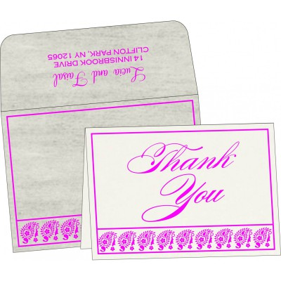 Thank You Cards - TYC-8218G