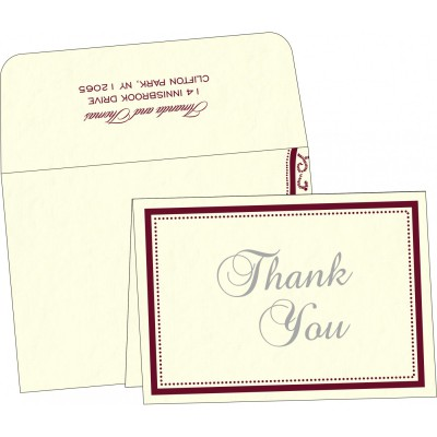 Thank You Cards - TYC-8219L