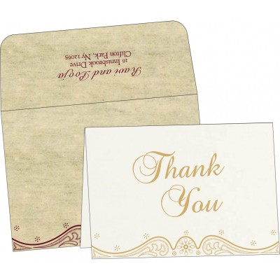 Thank You Cards - TYC-8221K