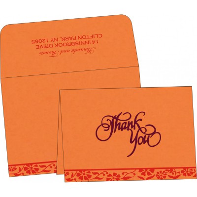 Thank You Cards - TYC-8222C