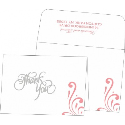 Thank You Cards - TYC-8223N