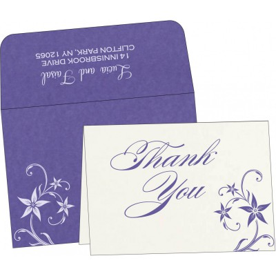 Thank You Cards - TYC-8225H
