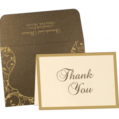 Thank You Cards - TYC-8229C